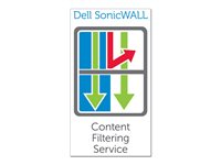 Dell SonicWALL CFS Premium Business Edition for SonicWALL NSA E6500