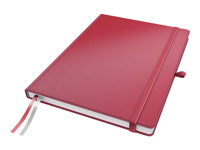 LEITZ, Notebook Complete A4 ruled red