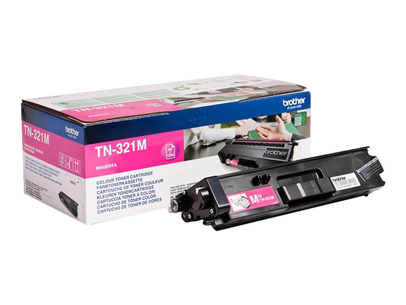 Brother TN321M - magenta - originale - cartouche de toner