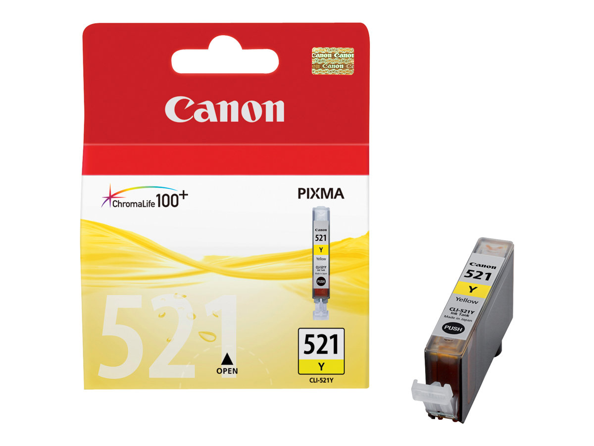 Canon CLI-521Y - jaune - originale - réservoir d'encre
