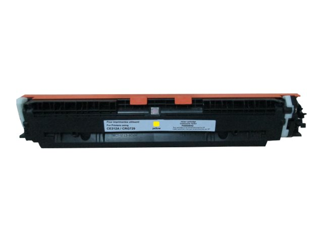 UPrint - jaune - remanufacturé - cartouche de toner (alternative for: HP CE312A, Canon EP-729)