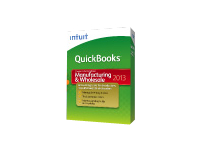 QuickBooks Premier Manufacturing & Wholesale 2013