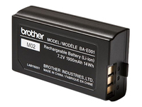 Brother BA-E001 - Printer battery - 1 x lithium ion - for Brother PT-P750; P-Touch PT-750, E300, E500, E550, H500, H75, P750; P-Touch EDGE PT-P750