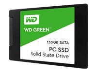 "WD Green SSD WDS120G2G0A Solid state drive 120 GB intern 2.5"""