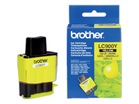 Brother Cartouche jet d'encre d'origine LC900Y
