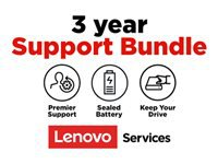 Lenovo Onsite + Keep Your Drive + Sealed Battery + Premier Support - Extended service agreement - parts and labor - 3 years - on-site - response time: NBD - for (1-year pick-up & return): ThinkBook 13s G2 ITL; 14 G2 ARE; 14 G2 ITL; 15; 15 G2 ARE; 15 G2 ITL; ThinkPad C13 Yoga G1; E14 Gen 2; E15 Gen 2; L14 Gen 1; L15 Gen 1; P14s Gen 1; P15s Gen 1; T14 Gen 1; T14s Gen 1; T15 Gen 1; T15p Gen 1; X1 Carbon Gen 8; X1 Extreme Gen 3; X1 Yoga Gen 5; X13 Gen 1