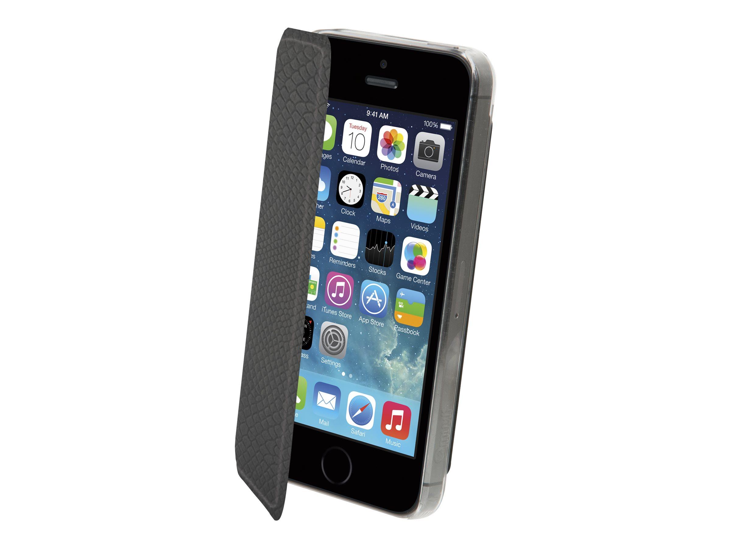 Muvit Made in Paris Crystal Folio - coque de protection pour téléphone portable