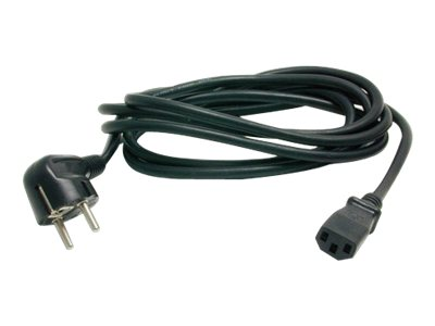Image of StarTech.com 6 ft 2 Prong European Power Cord for PC Computers - power cable - 1.8 m