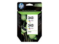HP - INKJET SUPPLY HIGH VOLUME HP 343CB332EE