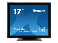 iiyama ProLite T1732MSC-B5AG 17 Inch Black, Anti Glare, 5:4, HDM, D-P, Bezel Free