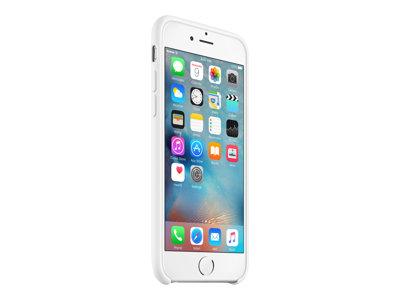 Apple - Zadní kryt pro mobilní telefon - silikon - bílá - pro iPhone 6, 6s