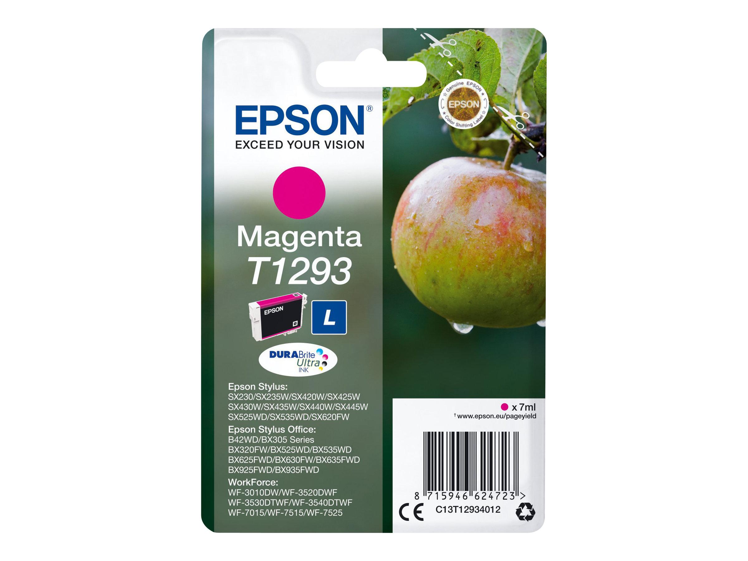 Epson T1293 - pomme - taille L - magenta - originale - cartouche d'encre