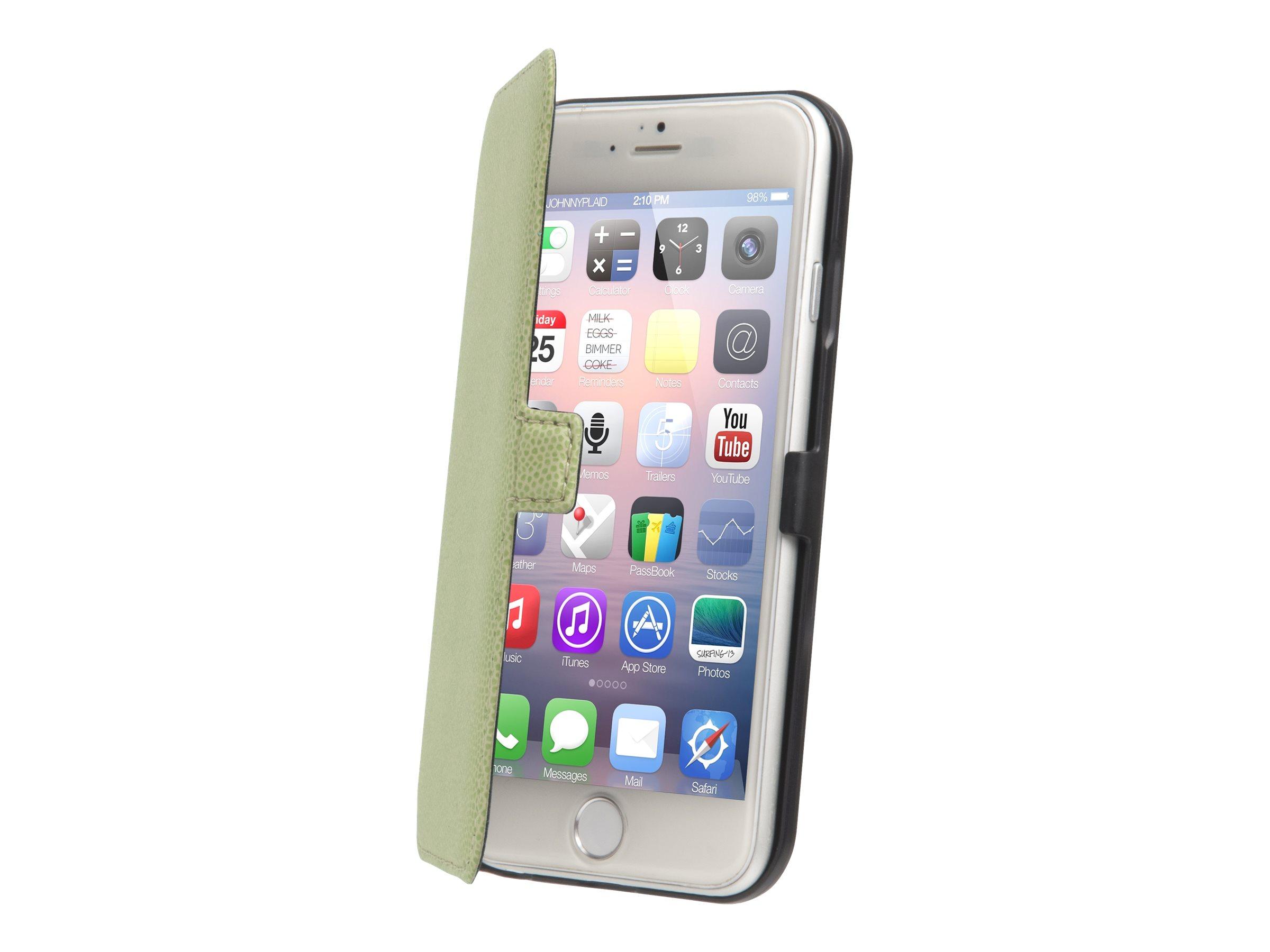Muvit Made in Paris Slim Folio - Protection à rabat pour iPhone 6 Plus - citron vert