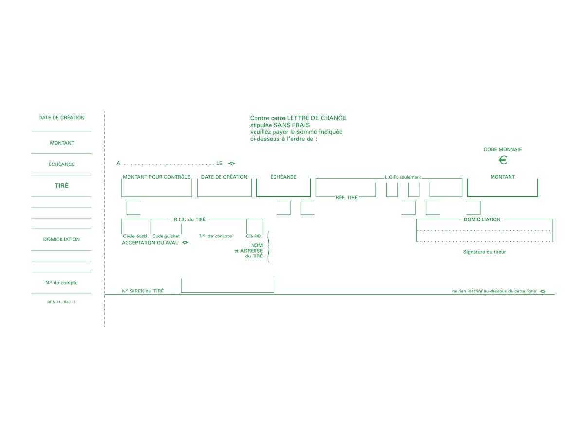 Exacompta - Manifold - 50 feuilles - 101 x 210 mm