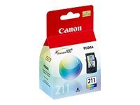 Canon CL-211 - Color (cian, magenta, amarillo) - original