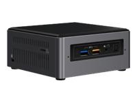 Intel Next Unit of Computing Kit NUC7i7BNHx1 - Barebone - mini PC - 1 x Core i7 7567U / 3.5 GHz - SS