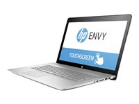 "HP Envy 17-u110nr - Core i7 7500U / 2.7 GHz - Win 10 Home 64-bit - 12 GB RAM - 1 TB HDD - DVD-Writer - 17.3"" IPS touchscreen 1920 x 1080 (Full HD) - GF 940MX - Wi-Fi, Bluetooth - HP finish in natural silver - kbd: US"