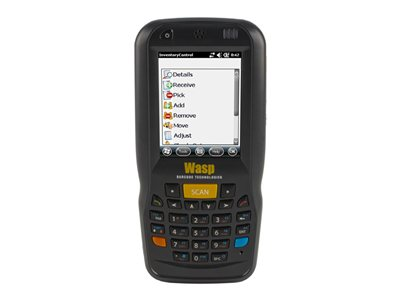 "Wasp DT60 - Data collection terminal - Win Embedded Handheld 6.5 - 512 MB - 2.7"" color TFT (320 x 240) - barcode reader - (laser) - microSD slot - Wi-Fi"