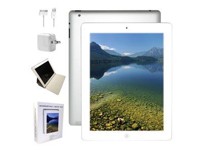 "Apple iPad 2 Wi-Fi - Tablet - 16 GB - 9.7"" IPS (1024 x 768) - white - refurbished"