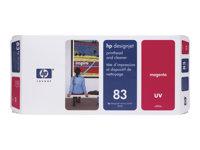 83 hlava a čistič magenta UV