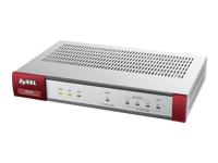 Zyxel USG40 Sikkerhedsudstyr 2 SSL VPN-brugere GigE