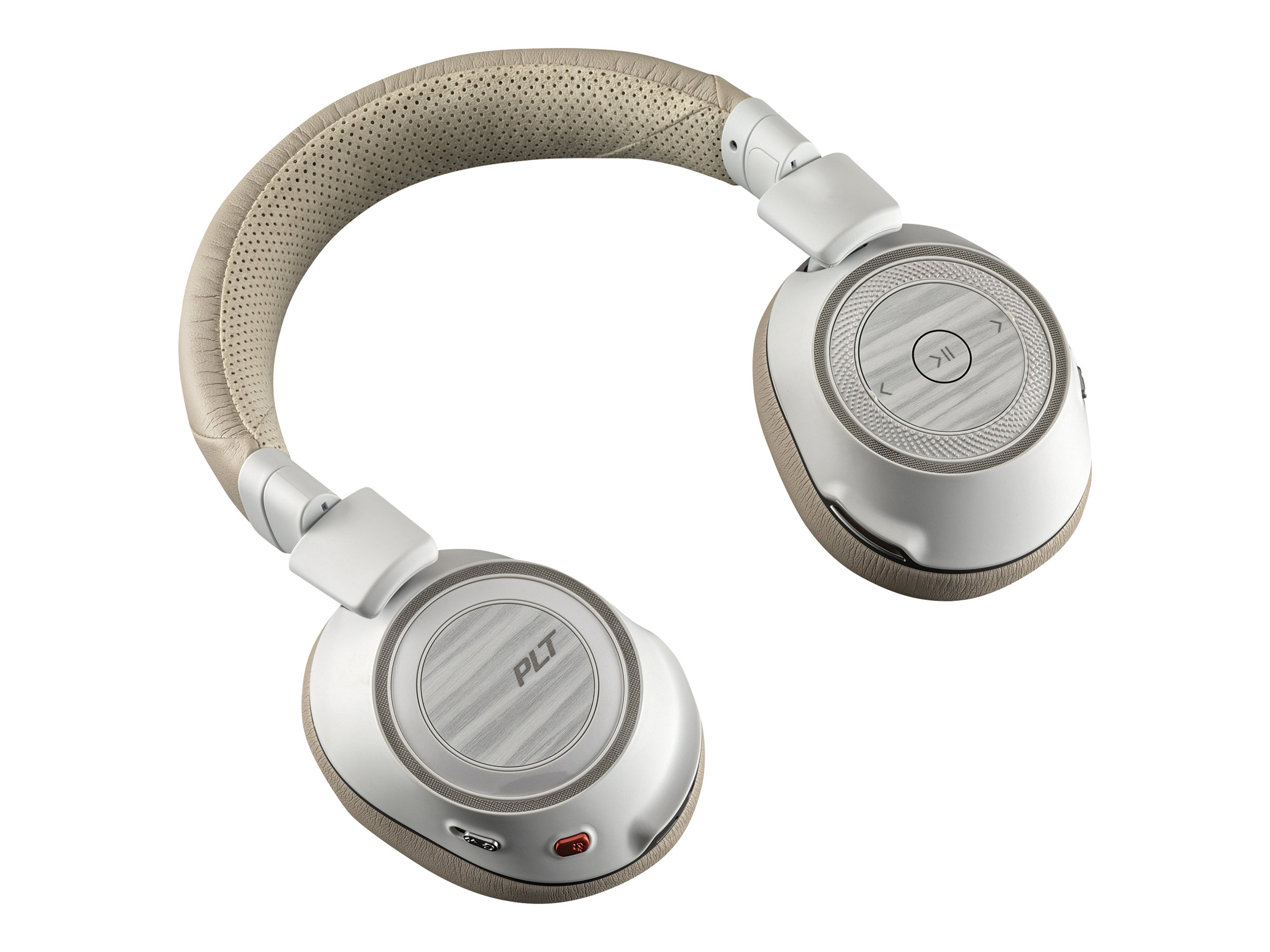 DCS - Over ear - Plantronics Voyager 8200 UC Trådløs Hvid Beige