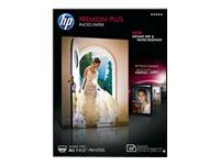 HP Premium Plus Photo Paper - papier photo brillant - 20 feuille(s)
