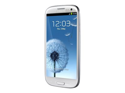 "Samsung Galaxy S3 I9300 Blanco Libre 16GB 3G Android 4.0.4 4.8"" LED"