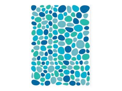 Oberthur Géométriques - 300 Gommettes - mosaïque - bleu