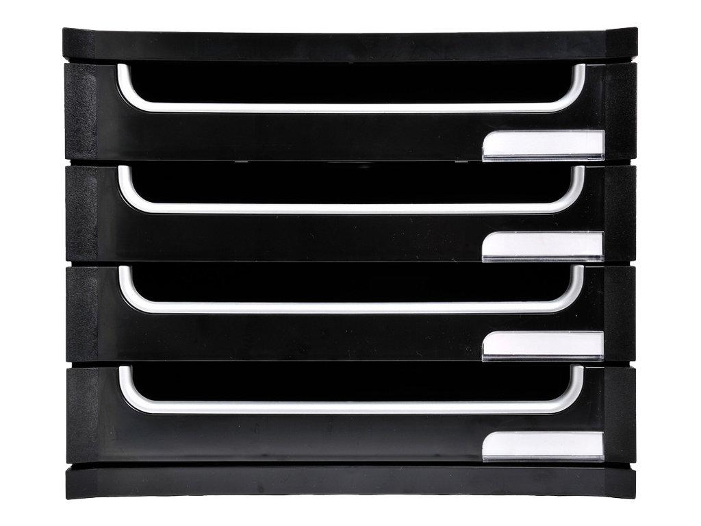 exacompta exactive exaburo a4 bloc de classement tiroirs modules de classement. Black Bedroom Furniture Sets. Home Design Ideas