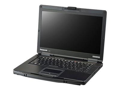 "Panasonic Toughbook 54 Prime - Core i7 6600U / 2.6 GHz - Win 10 Pro - 4 GB RAM - 256 GB SSD - 14"" IPS 1366 x 768 (HD) - HD Graphics 4000 - Wi-Fi, Bluetooth - with Toughbook Preferred"