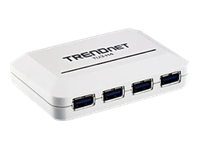 TRENDnet TU3 H4 Hub 4 x SuperSpeed USB 3.0 desktop
