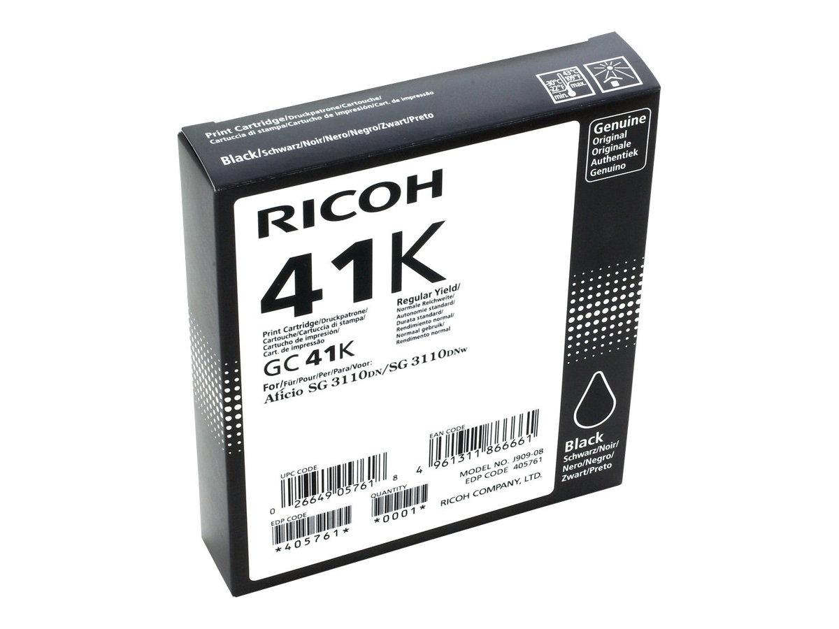 Ricoh - noir - original - cartouche d'encre
