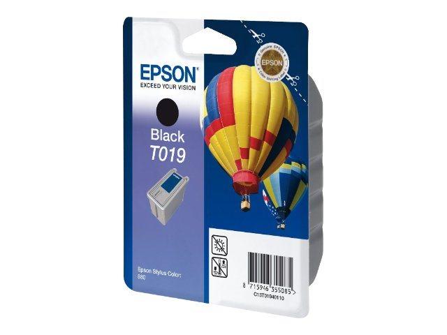 Epson T019 - noir - originale - cartouche d'encre