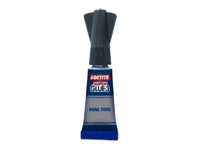 Loctite Super Glue 3 Liquid - Colle à prise rapide - Transparent - 1 gr