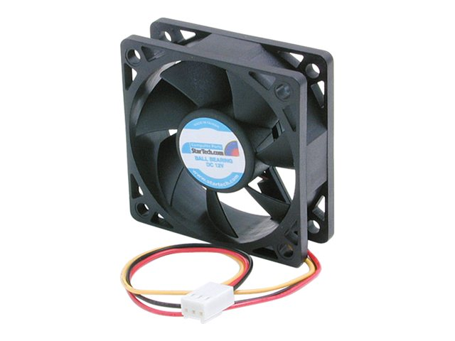 Image of StarTech.com 60x20mm Replacement Ball Bearing Computer Case Fan w/ TX3 Connector - system fan kit