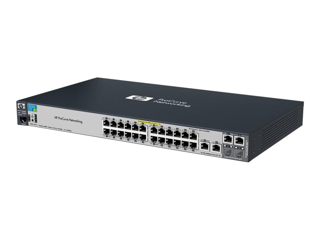 Hp J9138a 2520 24 Poe Switch 24 Port 10 100 Managed L2