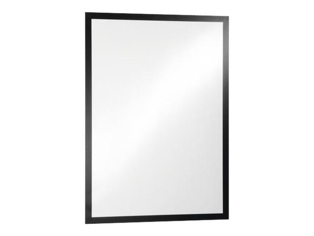 DURABLE DURAFRAME - Porte-document - pour 50 x 70 cm - magnétique - noir