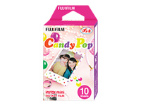 Fujifilm Instax Mini Candy Pop - Color instant film - ISO 800 - 10 exposures