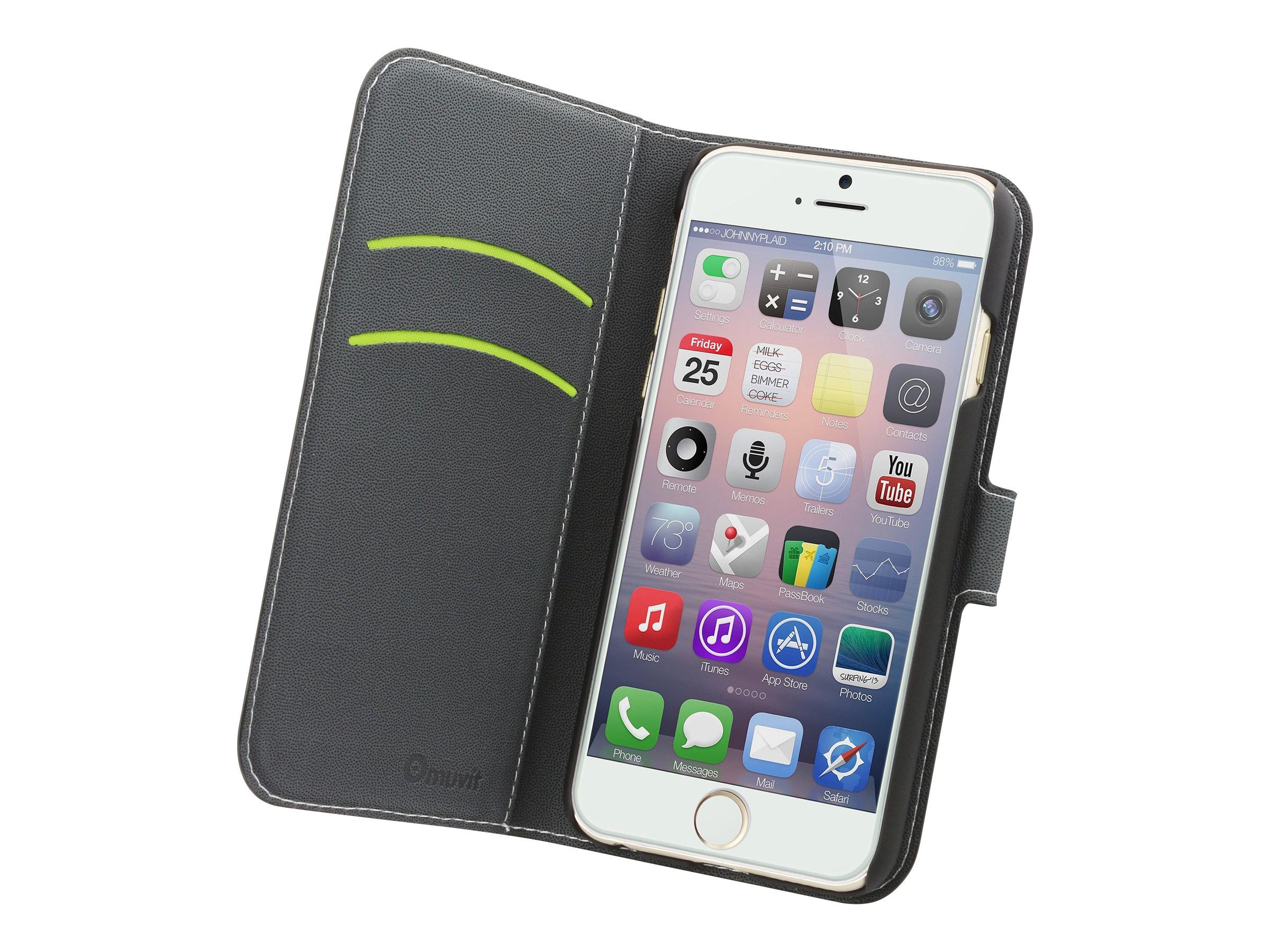 Muvit Wallet Folio - Protection à rabat pour iPhone 6 Plus - différents coloris