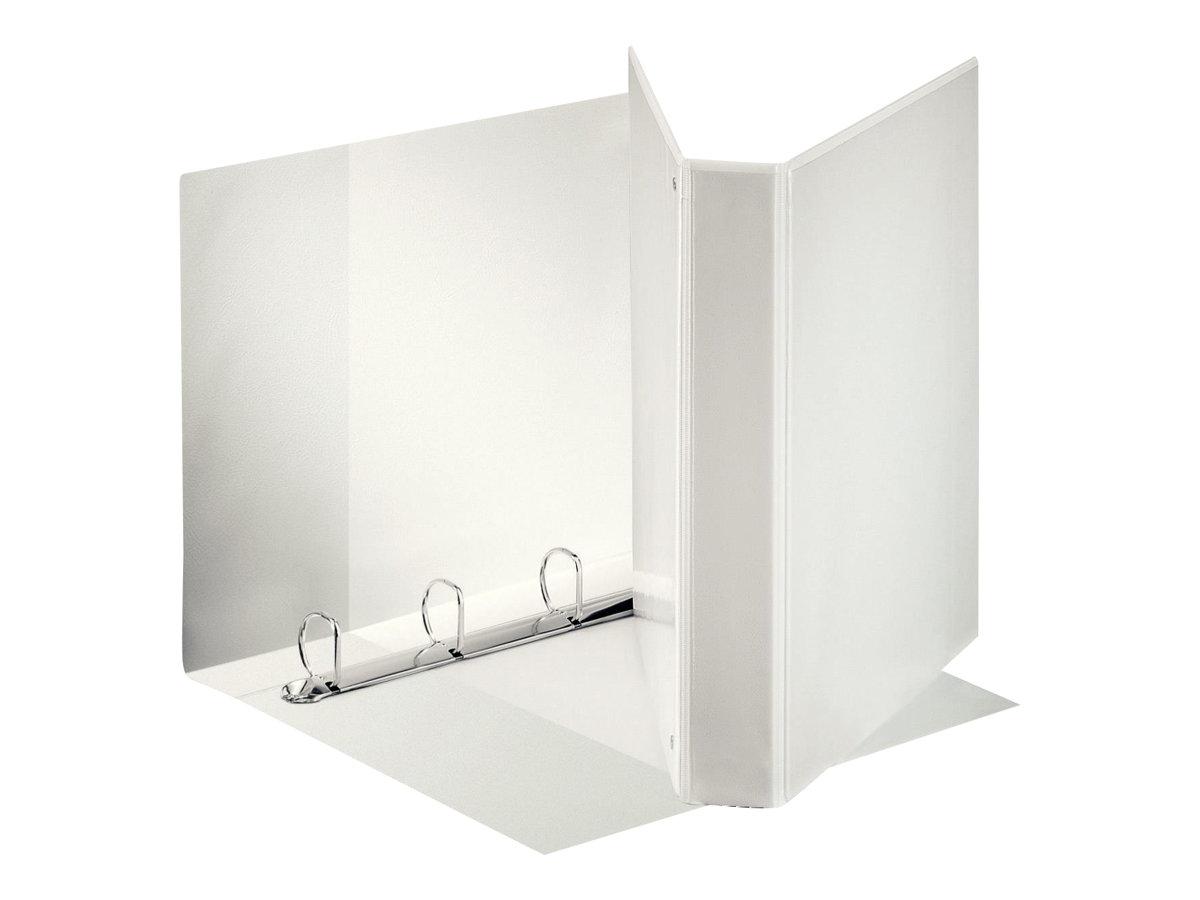 Esselte Panorama - Classeur à anneaux personnalisable - 50 mm - A4 Maxi - pour 300 feuilles - blanc