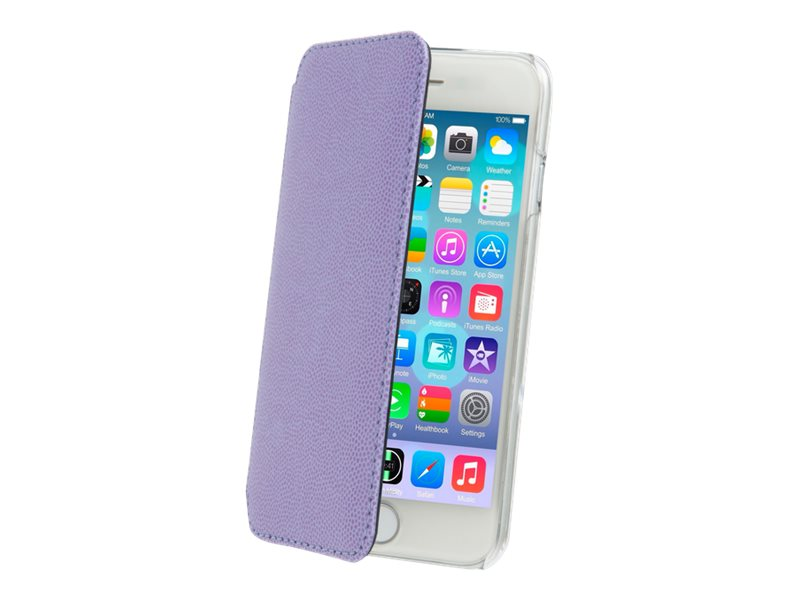 Muvit Made in Paris Crystal Folio - Protection à rabat pour iPhone 6 - violet