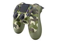 Sony DualShock 4 v2 Gamepad trådløs Bluetooth grøn camouflage