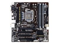 Gigabyte GA-B85M-D3H - 1.0 - carte-mère - micro ATX - Socket LGA1150 - B85
