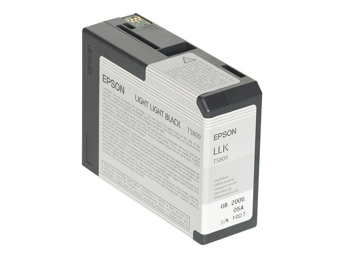 Epson T5809 - noir clair - originale - cartouche d'encre