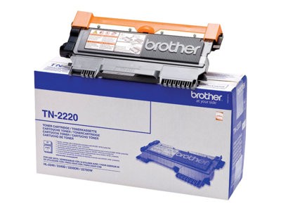 Brother TN2220 - noir - original - cartouche de toner