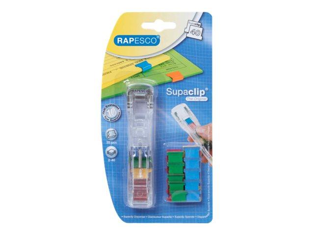 Rapesco Supaclip 40 - attaches