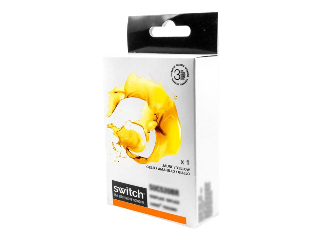 SWITCH - jaune - cartouche d'encre (alternative for: Brother LC125XL)
