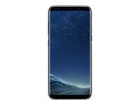 Samsung Clear Cover EF-QG950 Bagomslag til mobiltelefon sort