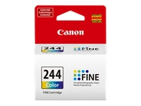 Canon CL-244 - Color (dye-based cyan, dye-based magenta, dye-based yellow) - original - ink cartridge - for PIXMA MG2522, MG2525, MG3020